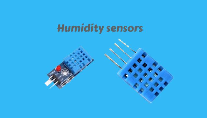 how do humidity sensors work